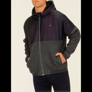 🌺Hurley Nike Therma Endure Full Zip Fleece Hoodie
